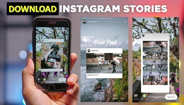 Cara Download Story IG Orang Lain Langsung dari Handphone