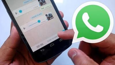 cara voice note di whatsapp